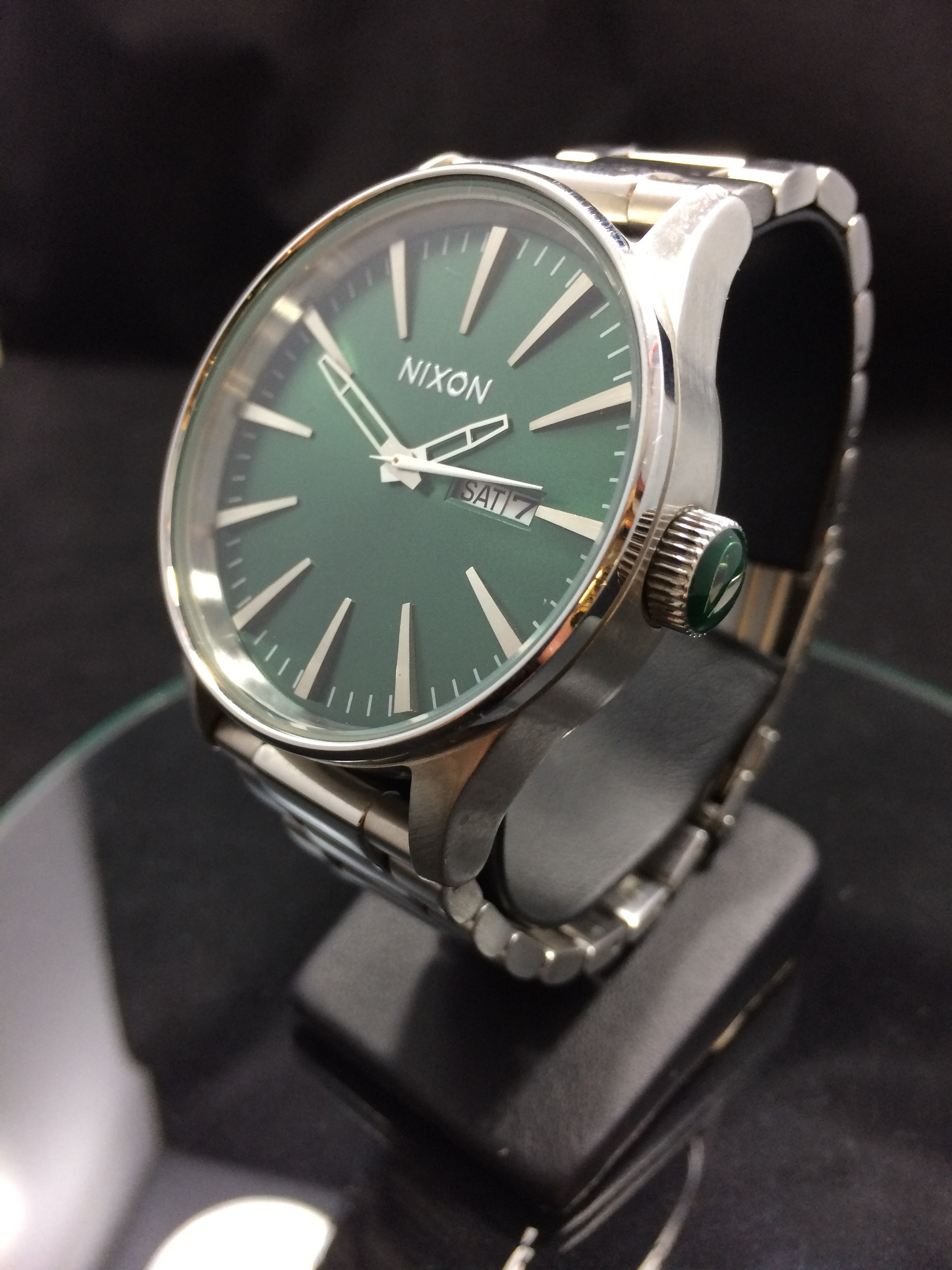 NIXON SENTRY SS (Green Sunray)