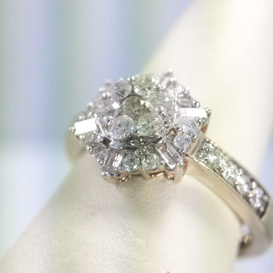 Baquette Diamond Ring